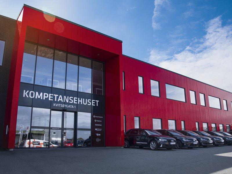 Kontorbygget til Haugaland Transportskole
